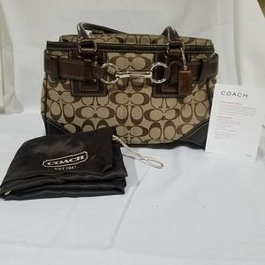 Coach Bag from Signature Collectin